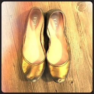 Bloch Bronze Ballet Flats - Size 40.5